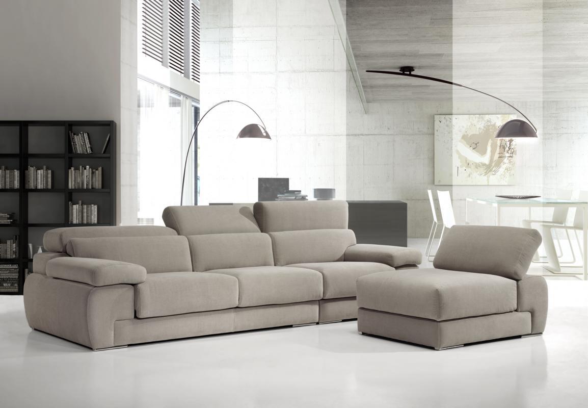 Sofas rinconeras modernos free sof de piel negro with for Sofa minimalista
