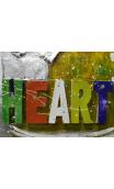 Cuadro Keep a dream in your heart 3D 100x100 cm