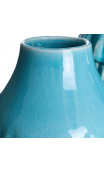 Jarrón Turquesa cerámica pequeño