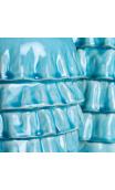 Jarrón Turquesa cerámica Grande
