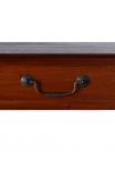 Consola miel madera 1 cajón 75x30x100 cm