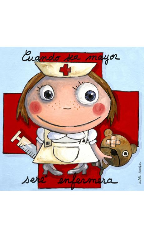 Cuadro enfermera