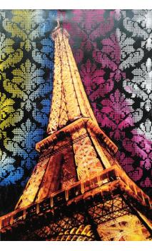 Cuadro Torre Eiffel 120x80 cm
