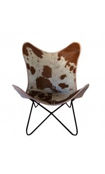 sillón piel Butterfly