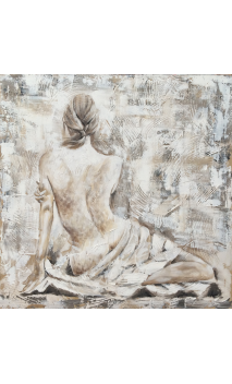 Mujer torso desnudo