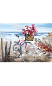 Cuadro Bicicleta Roja