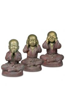 Conjunto Tres Budas