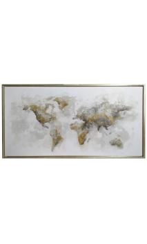Cuadro Mapa Mundo
