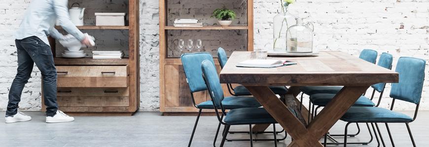 Mesas de comedor de dise o modernas y vintage online for Comedor vintage moderno