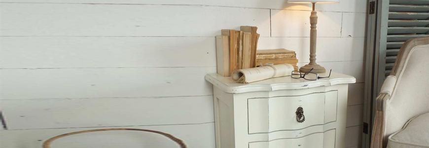 Mesillas de dormitorio de diseño y vintage online