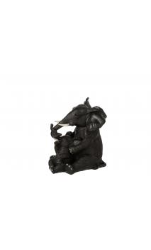 Figura ELEFANTES Madre Sentada Bebe