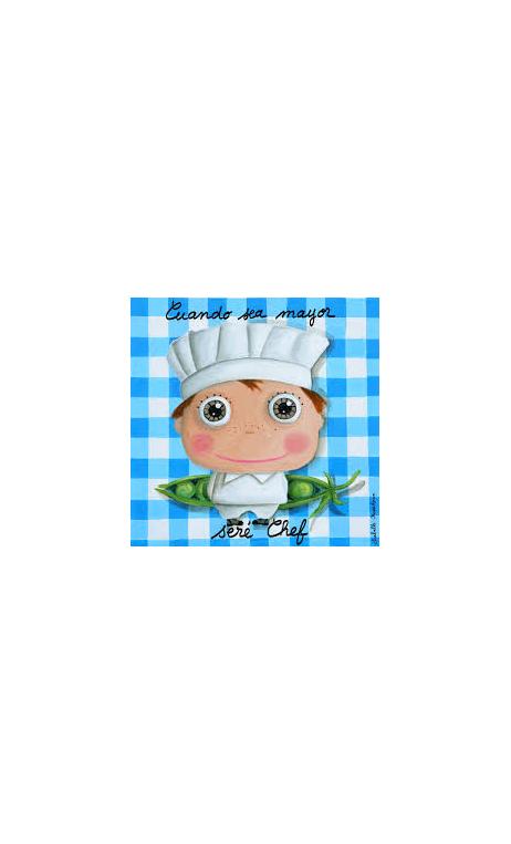 Cuadro Chef