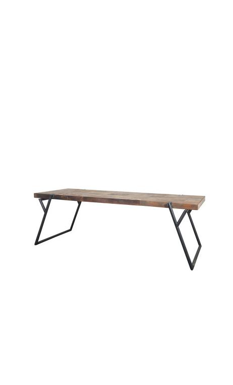 Comprar pure mesa de comedor pata inclinada online - mobiliario