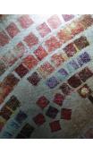 Cuadro Sol rojizo 90x90 cm