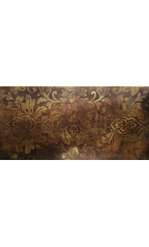 Cuadro Impresión dibujo marrón 120x60 cm