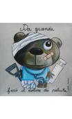 Cuadro Dottore dei peluche (en italiano)