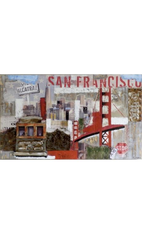 Cuadro San Francisco New 150X90 cm