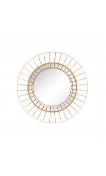 Espejo oro metal/ cristal 60