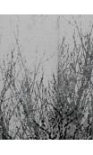 Cuadro Arboleda oro-gris 120x90 cm