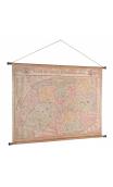 Mapa ciudad de París 162x115