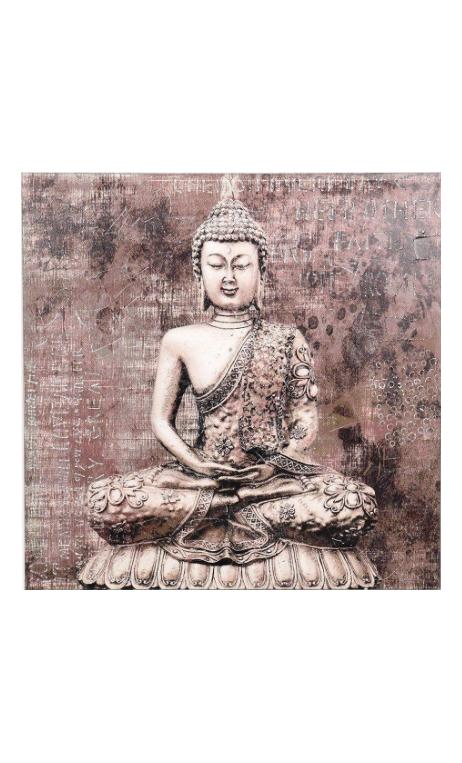 Cuadro Buda 100x100 cm.
