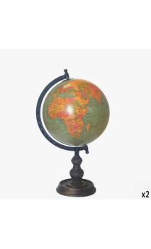 Bola Mundo 20cm Azul