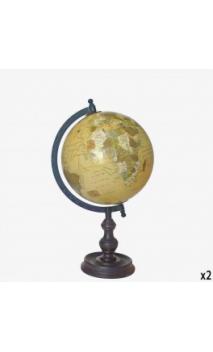 Bola Mundo 20cm Beige