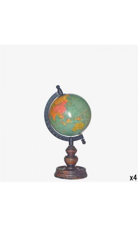 Bola Mundo 12cm Azul