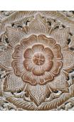 Tríptico Biramano auténtico Natural Flores