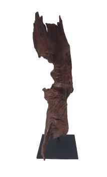 Escultura Étnica decorativa corteza 60A