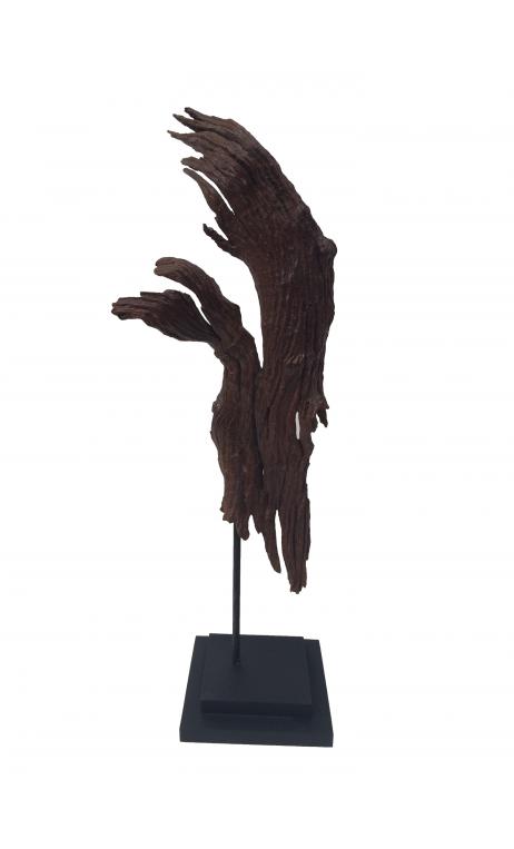 Escultura Étnica decorativa corteza 60B