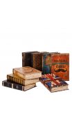 Set 8 Libros Simil Piel