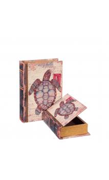 Set 2 Cajas Libro Tortuga