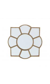 Espejo oro resina 21x21 B