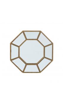 Espejo oro resina 21x21 C