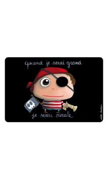 Mantel Pirata Individual