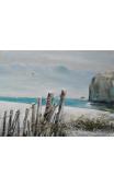 Cuadro Playa Azul 120