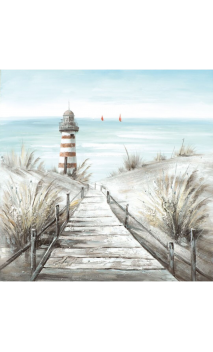Cuadro Playa Faro