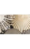 Cuadro metal Silver Gold 147 X 77cm
