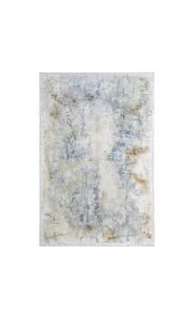 Cuadro Abstracto Gris 100x3,50x150 cm