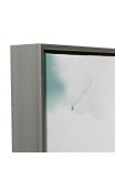 Cuadros Hojas Palmera Verde-Blanco 60x5x60 cm