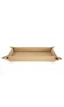 Vaciabolsillos BEIGE rectangular 25