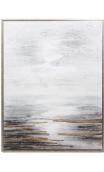 Cuadro Abstracto Arrecife 125 x 94,5 cm