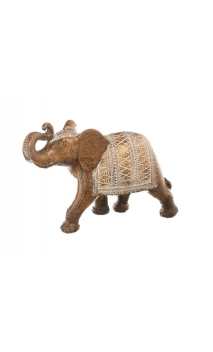 Figura ELEFANTE NATURAL 24 Blanco