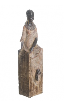 Figura AFRICANA (A) PEDESTAL 36