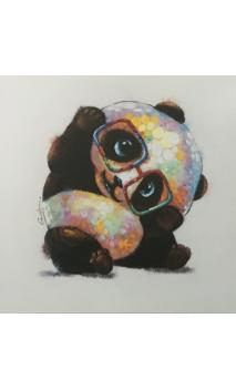 Lienzo PANDA Multicolor