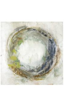 Lienzo Abstracto Remolino 80x80 cm