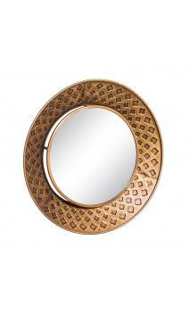 Espejo GOLD Circular Metal 60