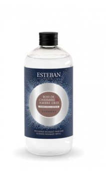 CACHEMIRA Y AMBAR GRIS recarga 500 ml Esteban