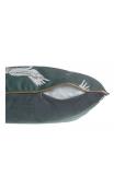 Cojín con relleno GARZA verde 45x45